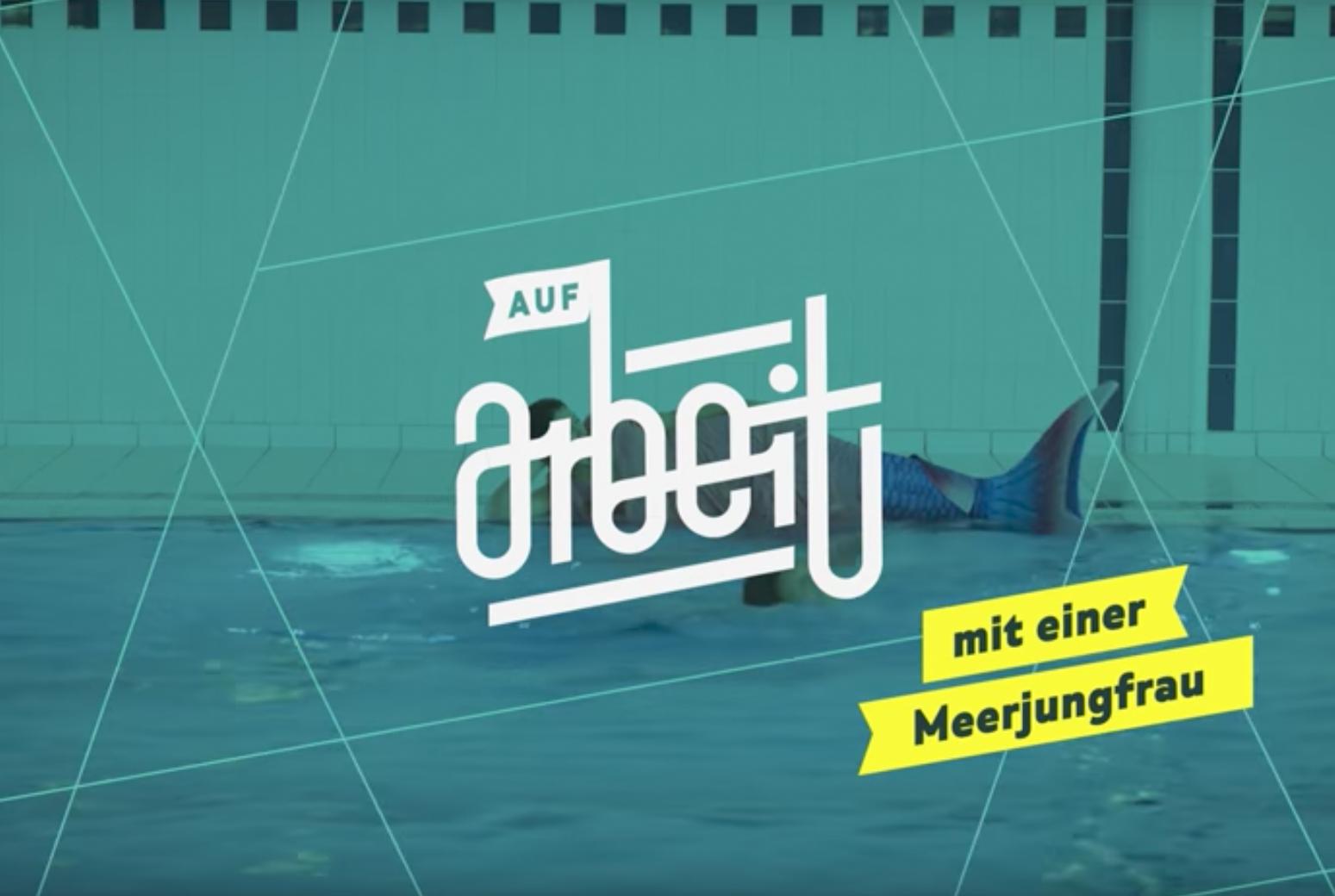 AUF ARBEIT – MIT EINER MEERJUNGFRAU